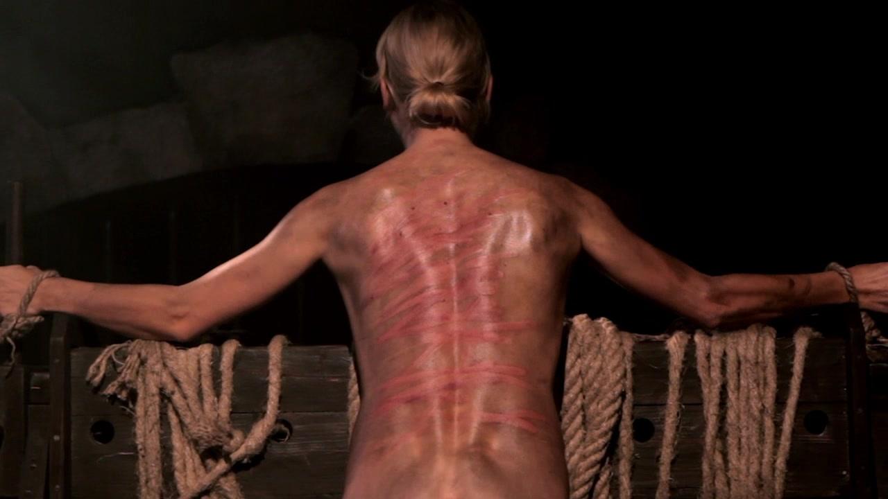Bullwhipping Female Slaves